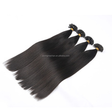 aliexpress wholesale double drawn 1.0g/strand straight ombre i tip hair extension for cheap