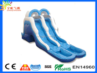 Two slide two pool best price good quality customize size 2016 giant inflatable water slide for adult
