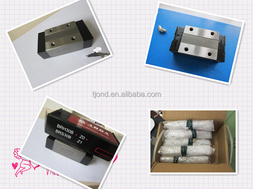 High precision China ABBA linear guide rail(including rail and block)supplier