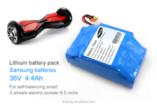 li-ion battery samsung battery 36v 4.4ah for electric scooter