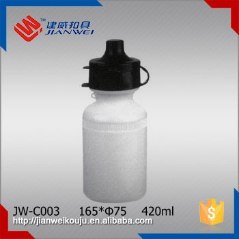 Kids Plastic Sports Drinking Water Bottle with Flip Top for Bikes JW-C003