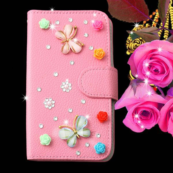 DIY luxury leather bling crystal diamond hard cover case for Vivo Y28