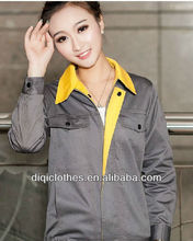 Embroidered long-sleeved tooling uniforms work clothes