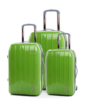 "PC TRAVEL POLO LUGGAGE/ COLORFUL LIGHTWEIGHT PC LUGGAGE/PC BEST SPINNER PC LUGGAGE 3 size-PCH-A19""24""27"""