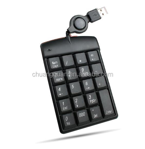 Mini USB Numeric keypad