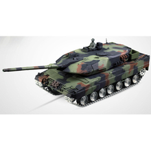HENG LONG 3889-1 2.4Ghz 1/16 Scale Radio Remote Control German Leopard 2A6 RC Air Soft RC Battle Tank Smoke & Sound(Upgraded ver