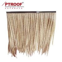 Bali PE artificial umbrella palm synthetic thatch roof