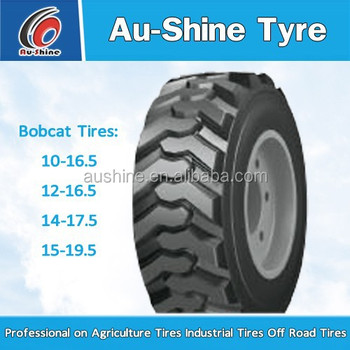 2016 bobcat skid steer tire 14-17.5 10-16.5 12-16.5 new tyre china factory