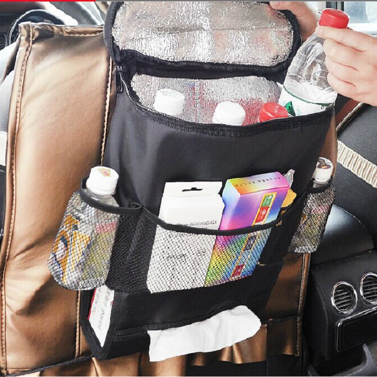 Multi color available thickening durable car seat organizer