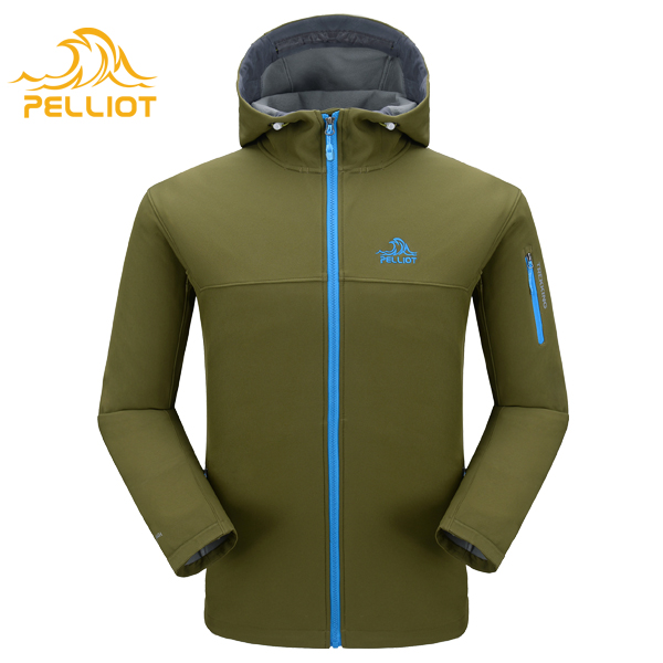 New Type Active Lightweight Men Waterproof Breathable Windproof Outdoor Hunter Jacket