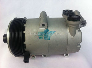 12V Auto air conditioning compressor VS16 PV7 for Ford TRANSIT Bus 2.4 92060751 3M5H19497AD 18044 8FK351334531 418312234s