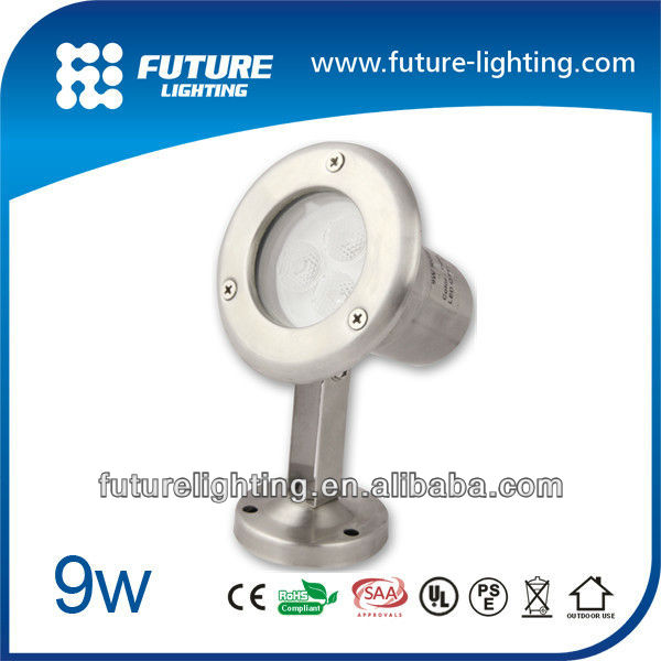 High brightness 9W ocean led outdoor underwater led lights for fountains