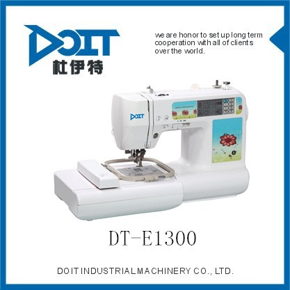 Multi-function Domestic Embroidery Sewing Machine DT-E13001 computer embroidery machine best price