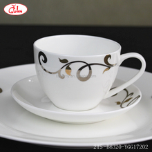 Wholesale halloween dinnerware sets with gold flower vines decor YGG172012