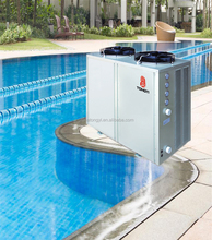 Auto-defrosting outdoors heat pump swimming pool heaters