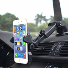 Black Wholesale Silicone Dashboard Stand Mobile Navigation Sucker Bracket Car Phone Holder