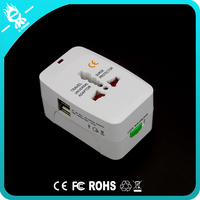 2 USB Charging Port UK/US/AU/EU/JP Plugs World Wide universal travel adapter charger