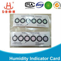 Waterproof packing humidity indicator Card bag