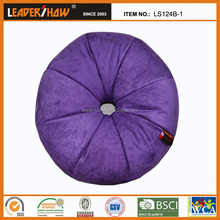 Noble purple living room furniture micro beads round bean bag seat cushion chair
