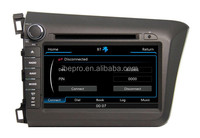 car dvd for honda civic right 2012
