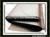 microfiber pu leather for tablet PC protective sleeve material