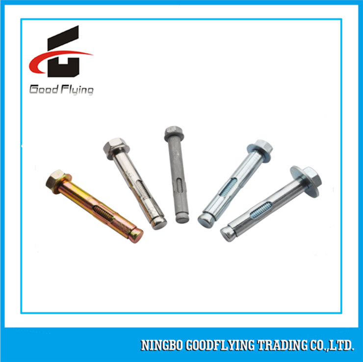 Good Price Zinc Plated Expansion Split M10 Sleeve Anchor Bolt Type