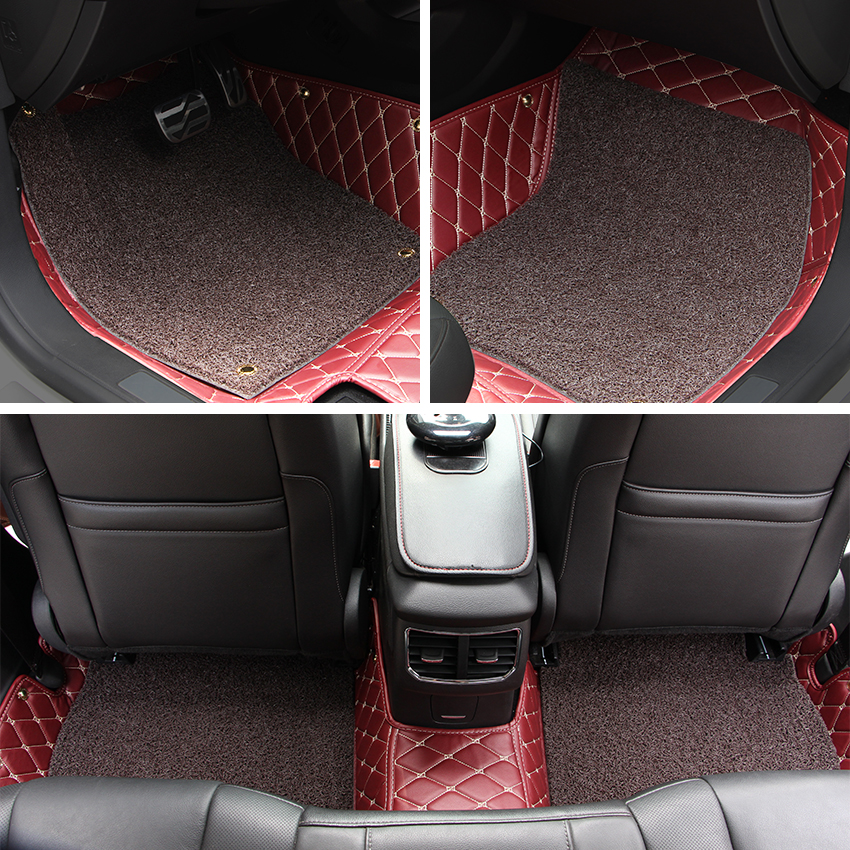 Black Floor Mats For Cars For Suzuki Swift 2011-