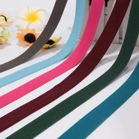 Polyester cheap custom elastic ribbon for waistband