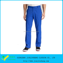 Famous Designed Royal Blue Quality Golf Pants Trousers For Man