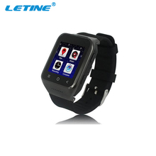 Slim Design MTK6577 Smart Watch Phone Android 4.4 Smart Watch 512/4G Android GPS Smart Watch