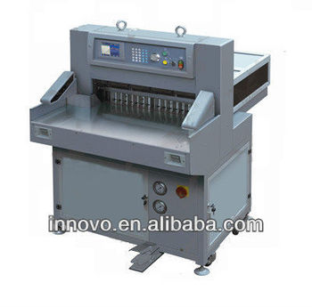 QZYK660W Microcomputer hydraulic aotumatic workshop and school guillotine Paper Cutter