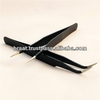 Top quality ESD 15 strong curved tweezers eyelash extension tweezers