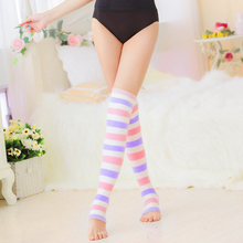 Ultra Soft Fabric Ladies Tube Sock Candy Color Thermal Socks W95