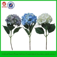 46CM Artificial Plant Flower of Wholesale Stem Silk Hydrangea