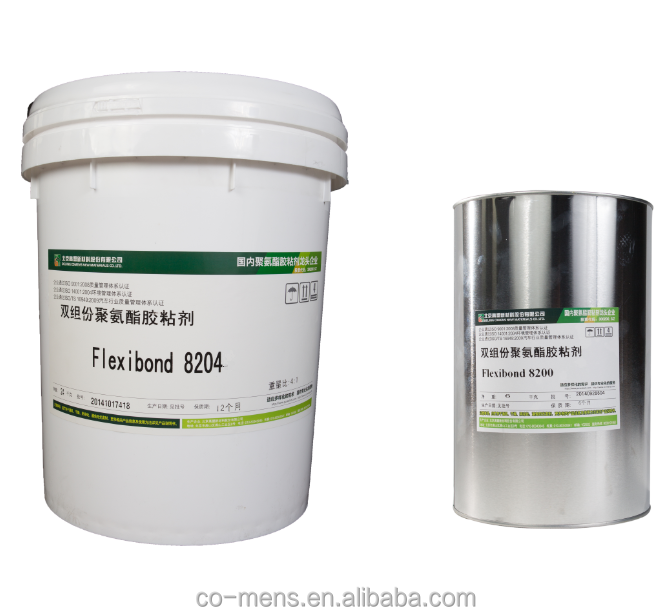 Flexibond 8204 Two Component PU Adhesive for rook wool, PU foam Bonding