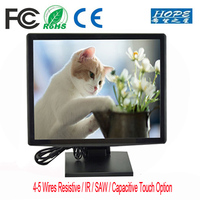 4 Wires Resistive USB digital Touch Screen 10 Inch LCD Monitor