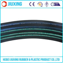 Steel wire braided hydraulic rubber hose for sale