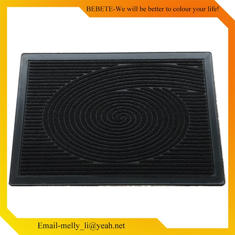 2017 Hot Selling Products PP Solid colour Mat , Door Mat Rubber