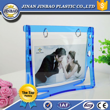 jinbao factory funny a4 a5 acrylic block photo frames