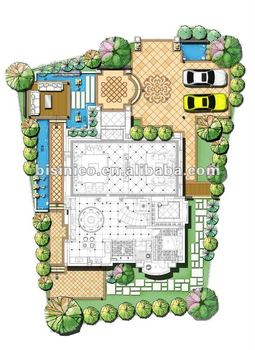3D villa and landscape design,3D interior and exterior design,3D rendering