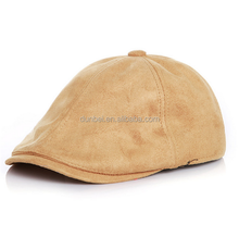 Wholesale factory custom 2015 new fashion suede velvet baby kids beret hat