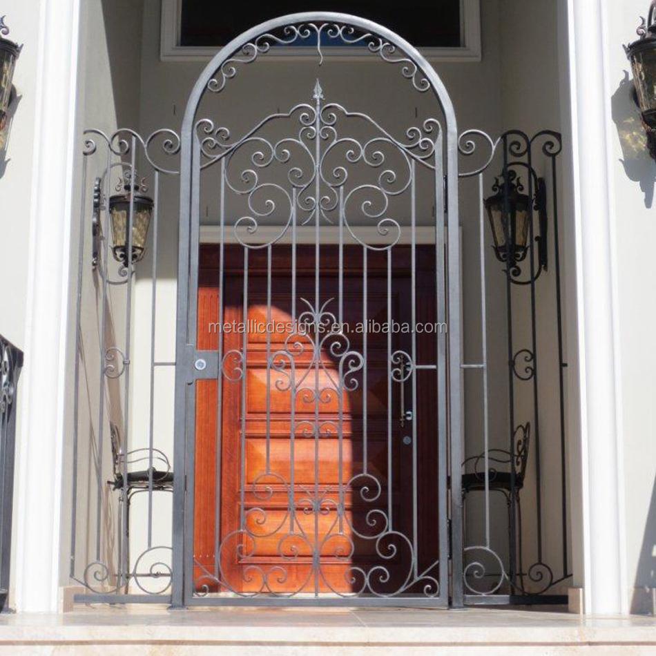 Iron fancy gate boundary wall gate designhouse main iron square tube gate designs