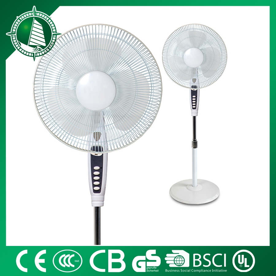 CE Approved Plastic Blade 3 Speed Choosable 16 inch Wall Mounted Oscillating Fan