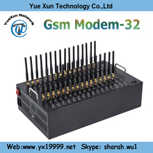 32 port usb gsm modem pool / multi sim card modem with free sms software