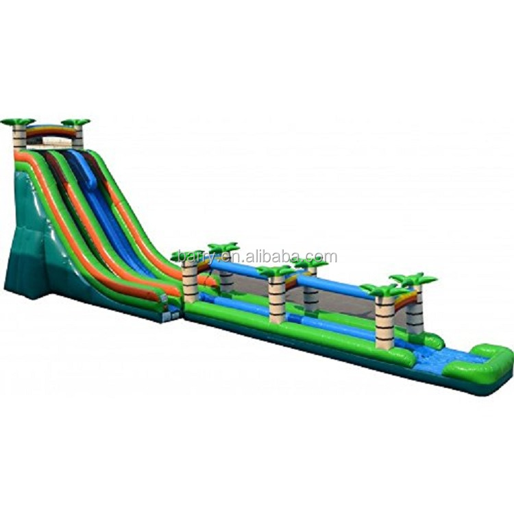 China factory custom made giant inflatable water slide for adult