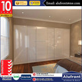 Australia Design Aluminium Robe Door Frameless Design Flash Back Glass