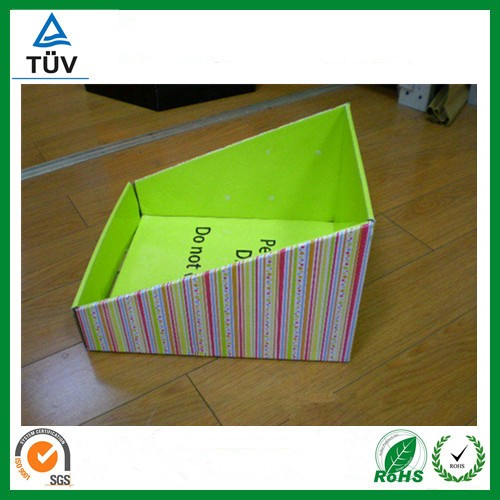 paper show box,colorful paper display box