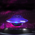 2015 New Creative UFO Magnetic Levitating Bluetooth Speaker