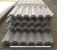 Single Skin GI Galvanized Roofing Corrugated Profile Cladding Sheet supplier in uae , africa , libya