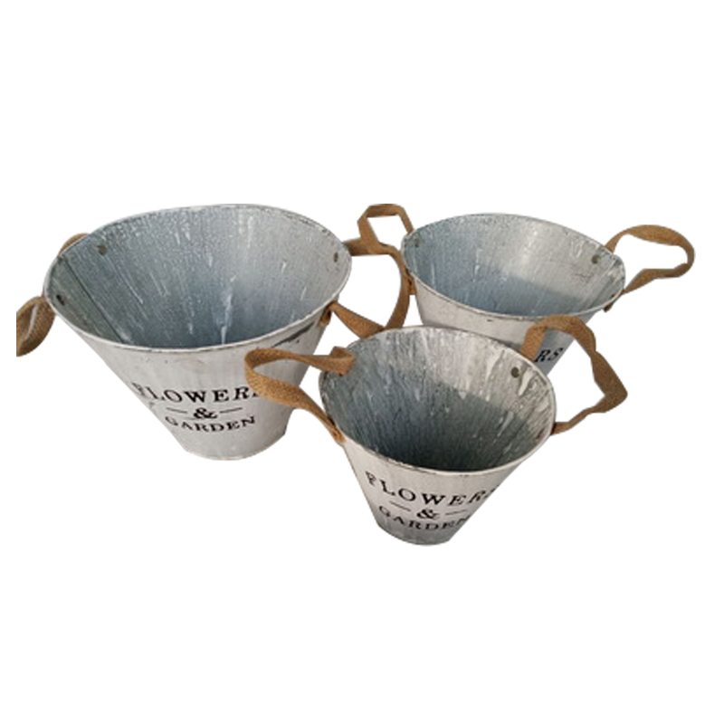 China manufacture iron flower pot for sale